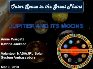 Jupiter talk title slide